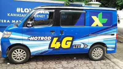 branding stiker mobil   granmax xl di bandung   mangele stiker 081227722792