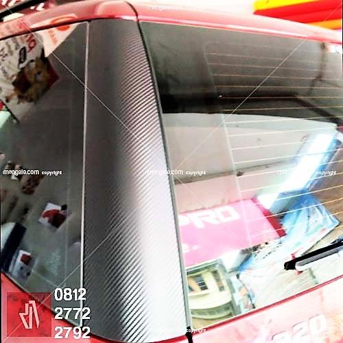 tempat stiker carbon mobil terbaik di bandung | mangele 081227722792 | high gloss semi premium
