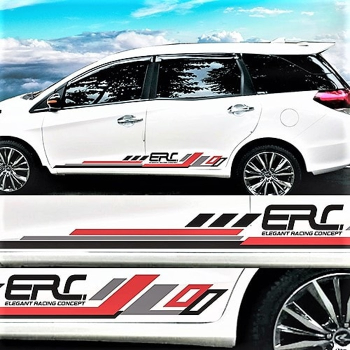 stiker cutting mobil   ERC desain konsep di Bandung   mangele stiker 081227722792