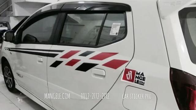 cutting stiker mobil | karimun minimalis | mangele stiker Bandung