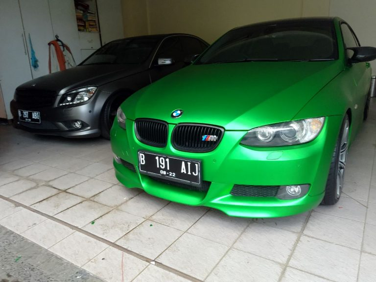 GCM-05 Green chrome metallic matte RS Premium wrapping