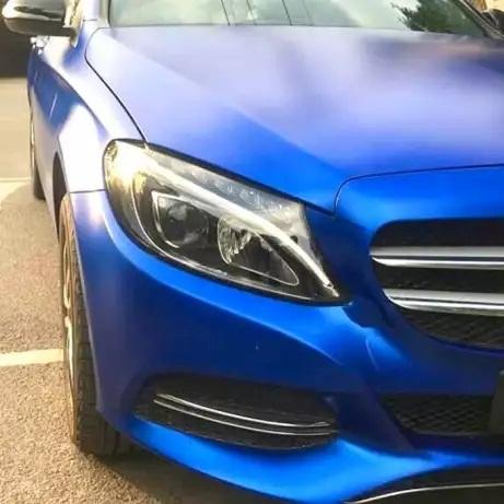 BMC-03 Blue chrome metallic matte RS Premium wrapping