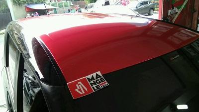wrapping stiker mobil   Sienta Merah Gloss Premium di Bandung   mangele stiker 081227722792