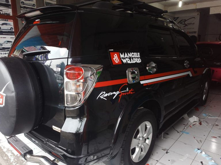 stiker cutting mobil | Rush Cutting Stripping Racing Sport | mangele stiker 081227722792