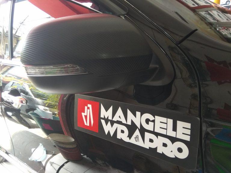 wrapping stiker mobil   spion carbon 4d bandung   mangele stiker 081227722792