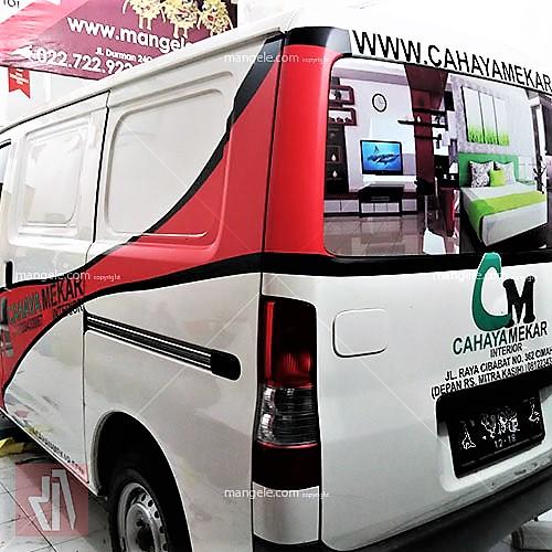 car branding granmax cahaya interior bandung | mangele sticker 081227722792