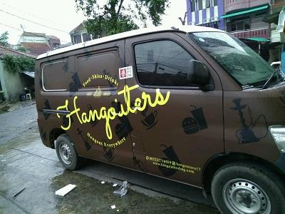 branding stiker mobil terbaik di bandung | mangele 081227722792 | hangouters granmax
