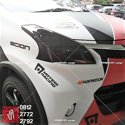 mangele wrapping stiker mobil terbaik di bandung   combi hankook desain   call 081227722792