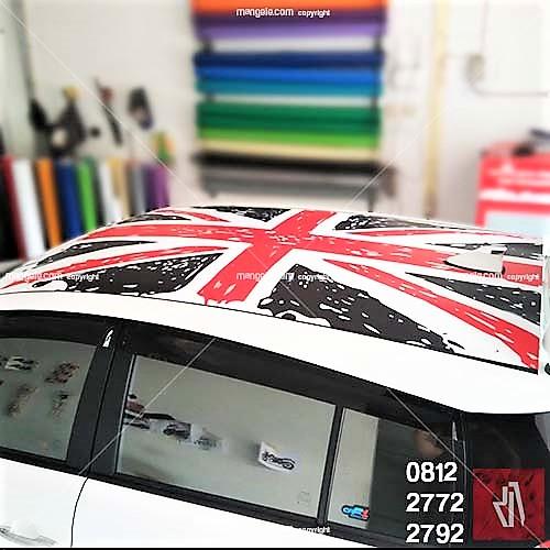 tempat pasang stiker mobil berkualitas di bandung | mangele sticker pro | call 081227722792
