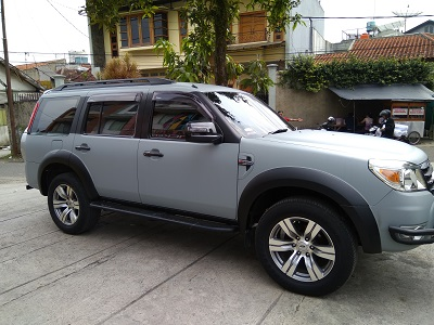 ford everest full wrapping abu doff di bandung | mangele stiker | 081227722792