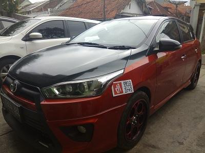 stiker carbon kap mesin   Bandung   mangele 081227722792