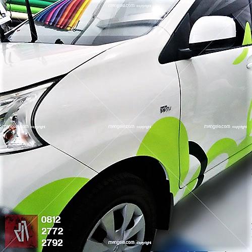 jasa desain stiker mobil branding di bandung | sticker hotel zest | mangele pro 081227722792