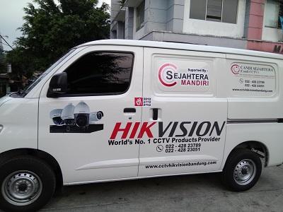 branding stiker mobil | granmax hik vision | mangele stiker 081227722792