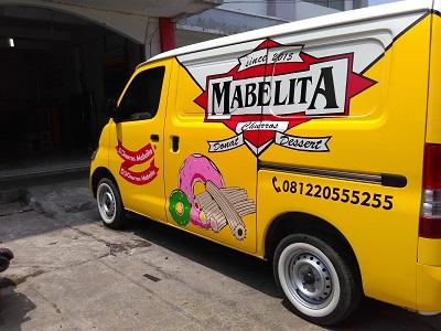branding stiker mobil | mabelita granmax | mangele stiker 081227722792