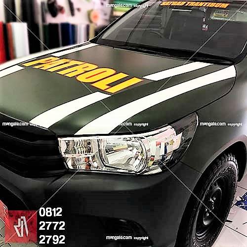 body wrapping stiker mobil terbaik di bandung | oracal premium 081227722792 | patroli garut