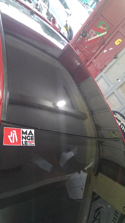 stiker wrapping mobil | gloss hitam stiker atap bandung | mangele stiker 081227722792