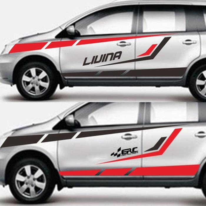 cutting stiker mobil | cutting mobil Livina di Bandung | mangele stiker 081227722792