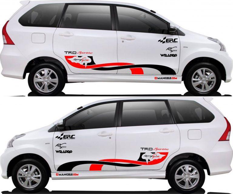 stiker cutting mobil | Cutting Avanza Xenia custom | mangele stiker 081227722792