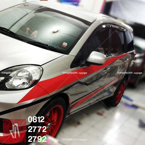cutting stiker mobil | brio racing cutting bandung | mangele stiker 081227722792
