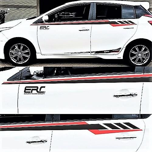 stiker cutting mobil   cutting line atas ERC konsep   mangele stiker 081227722792