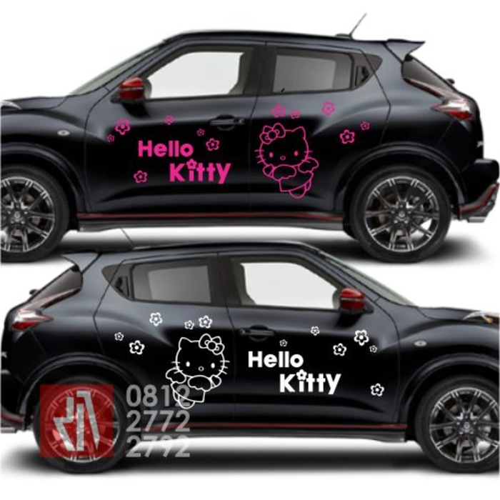cutting stiker mobil | cutting hello kitty juke bandung | mangele stiker 081227722792