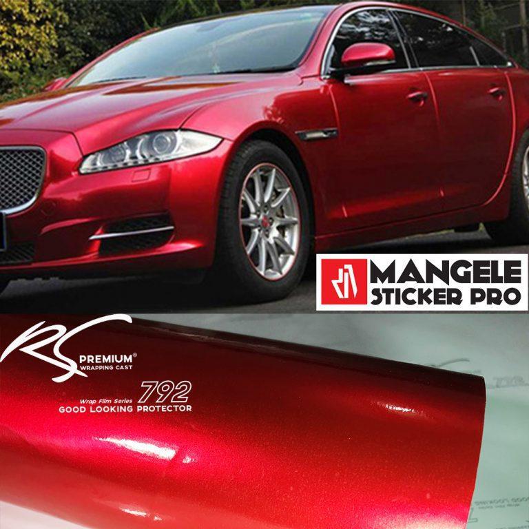 RCG-02 Red Chrome Metallic Gloss RS Premium Wrapping