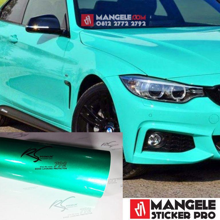 TCG-04 Turquoise Chrome Metallic Gloss RS Premium Wrapping