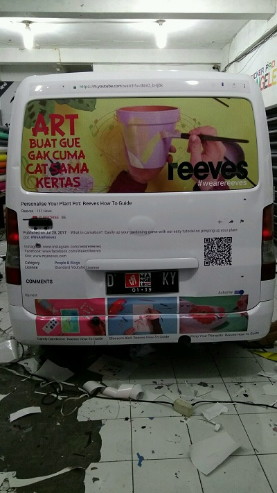 branding stiker mobil | granmax reeves | mangele stiker 081227722792
