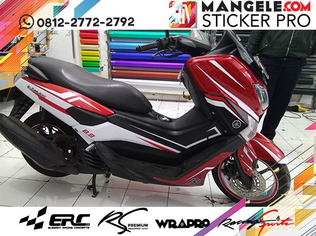 cutting stiker motor | stripping NMAX keren Bandung | mangele stiker 081227722792