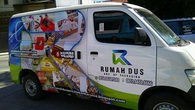 branding stiker mobil   granmax rumah dus     mangele stiker 081227722792