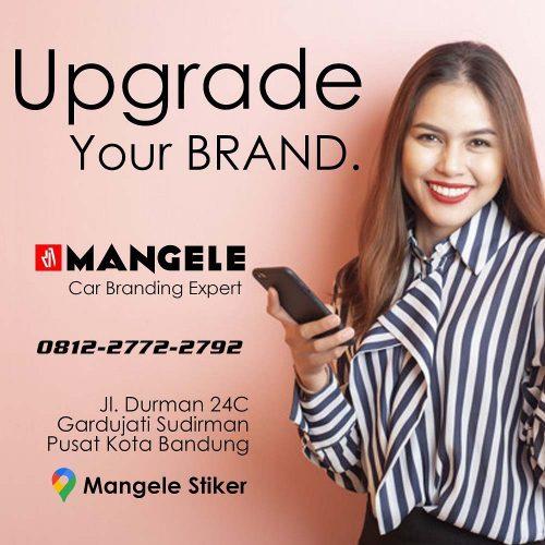 Car Branding Upgrade Your Brand now mangele stiker mobil bandung