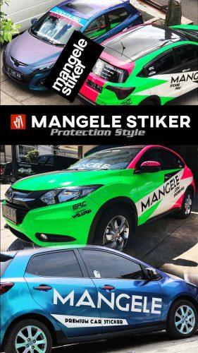 car branding Mangele Stiker Mobil Bandung
