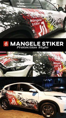 car branding expert CBX Mangele Stiker Mobil Bandung