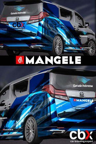 car branding mobil stiker keren garuda Indonesia