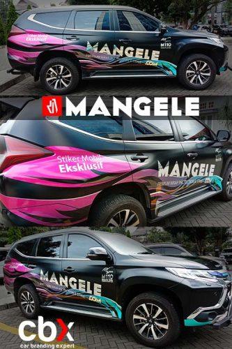 car branding expert CBX Mangele Stiker Mobil Bandung Premium